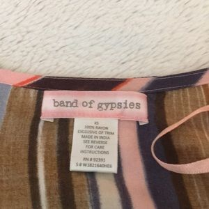 Band of Gypsies Sweaters - Band of Gypsies Multicolored Cardigan